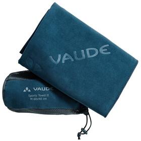 VAUDE Sports II Ręcznik M petrol